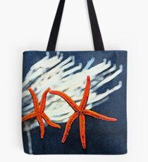 Starfish & Corel Tote Bag