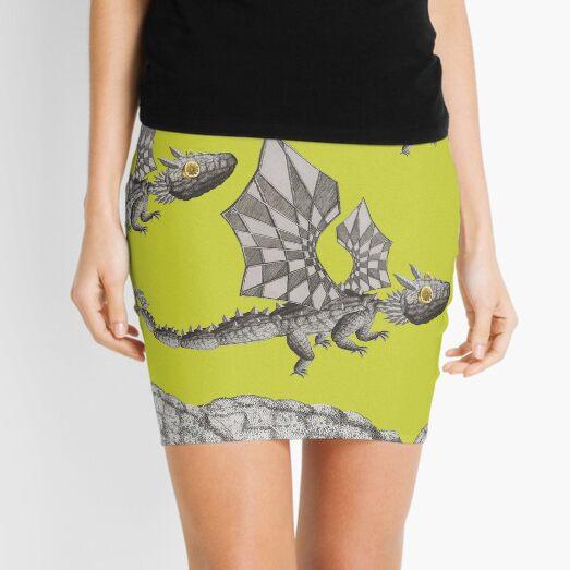 Dragons and Lemons #createarthistory Mini Skirt
