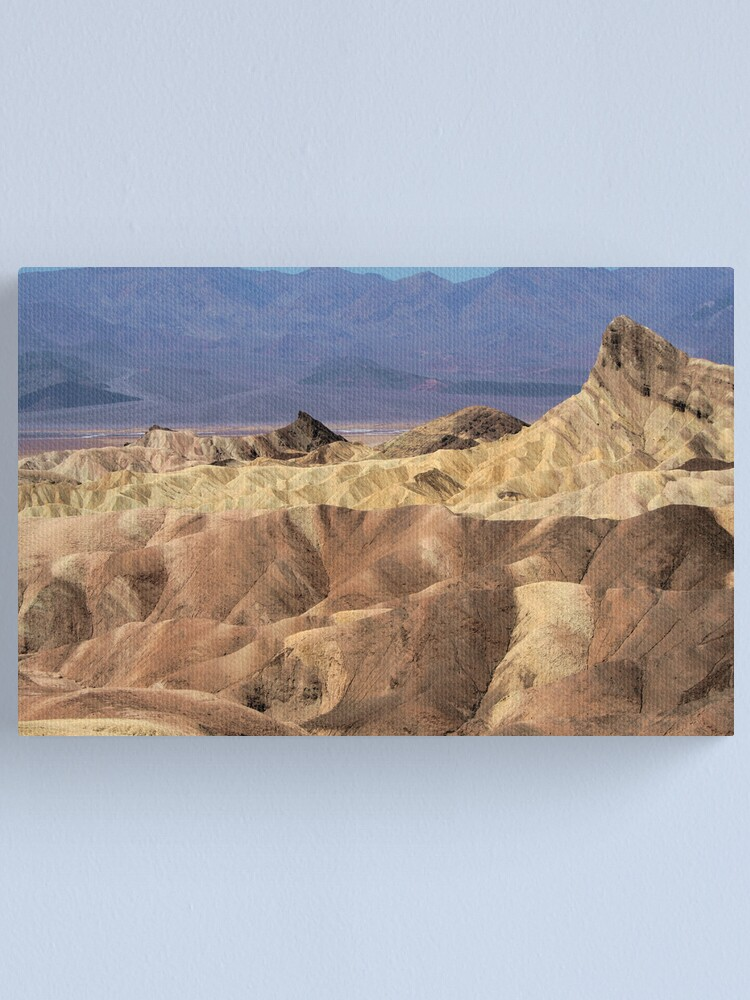 Alternate view of Zabriskie Point Canvas Print
