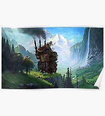 Howls Moving Castle Poster