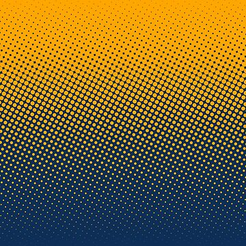Polka Dots Retro Pattern by aditya26j