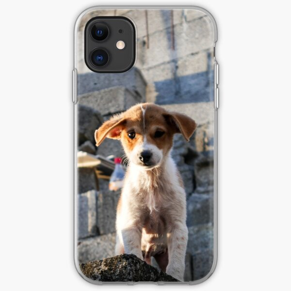 Puppies Hunde Dogs Hund Welpe iPhone Flexible Hülle