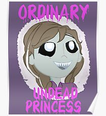 Completely Ordinary Zombie Princess Poster