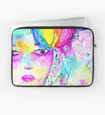 Rainbow Girl Laptop Sleeve