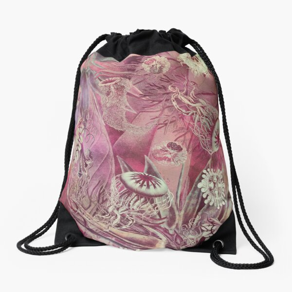 Sealife Drawstring Bag