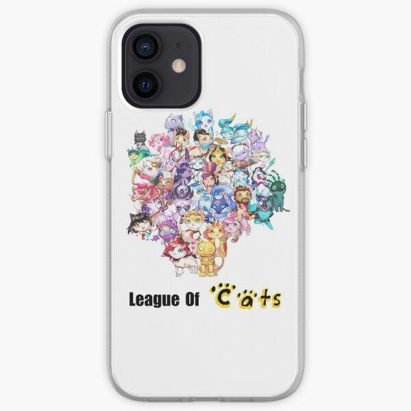 League of Legends - version chats Coque souple iPhone