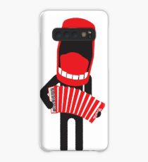 loud singing accordion player Case/Skin for Samsung Galaxy