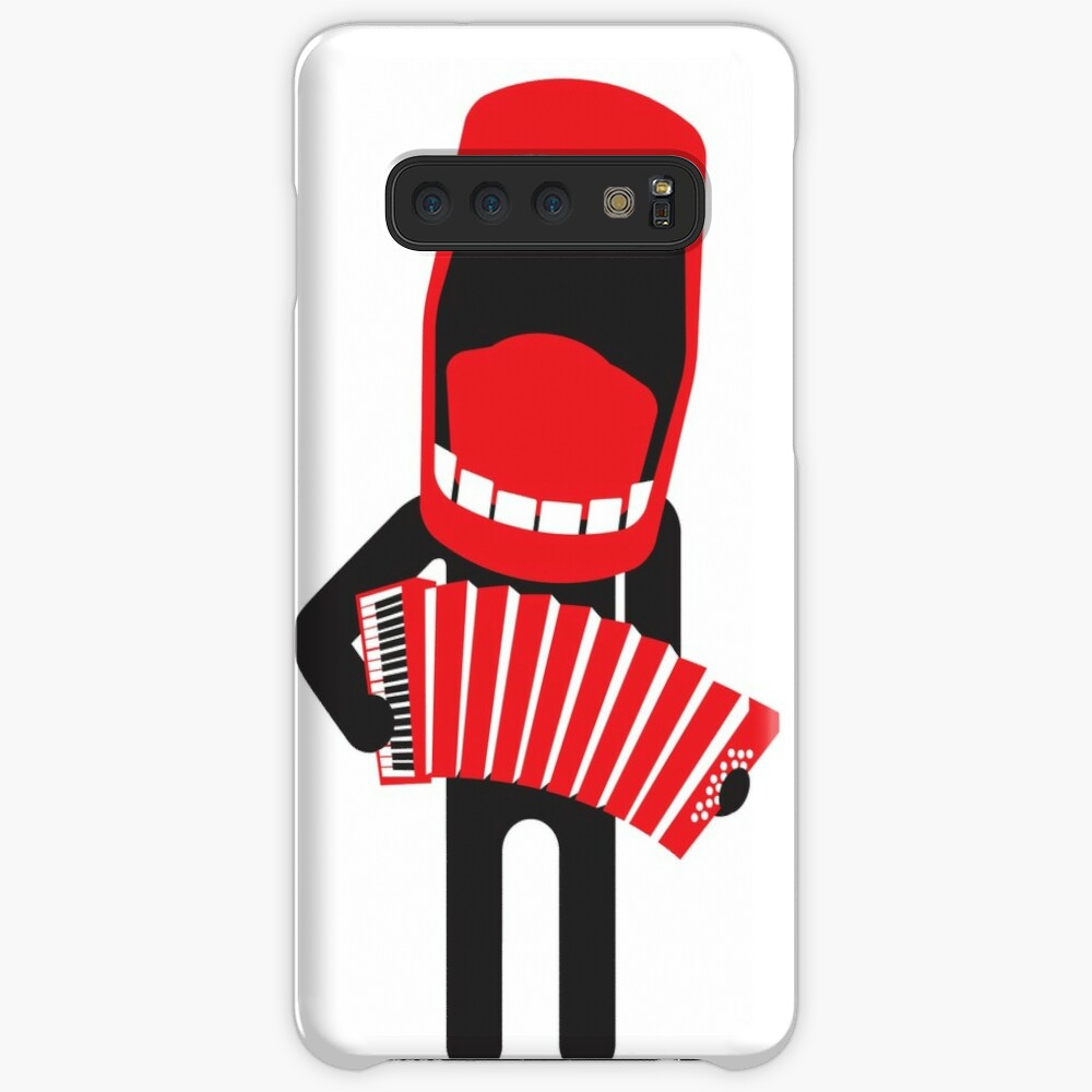 loud singing accordion player Samsung Galaxy Snap Case