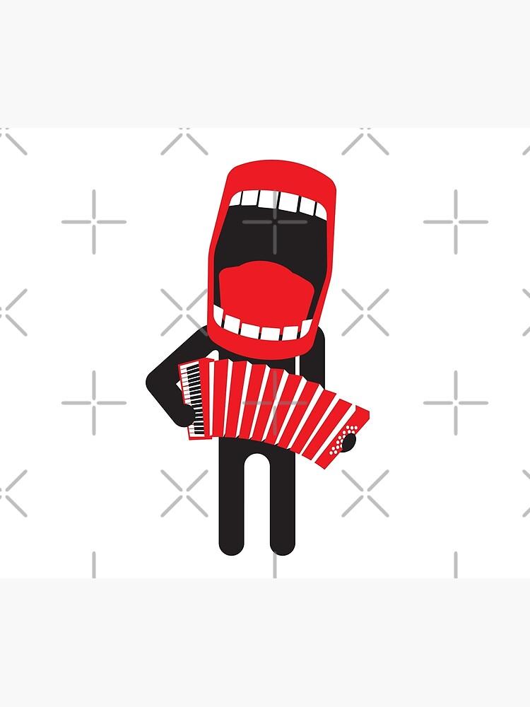 loud singing accordion player by kislev