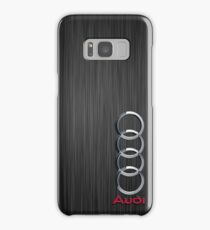 Audi logo on a field of steel Samsung Galaxy Case/Skin