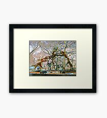 leaping Framed Print