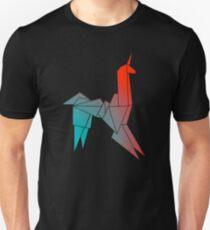 Oragami Unicorn Unisex T-Shirt