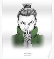 shikamaru Poster