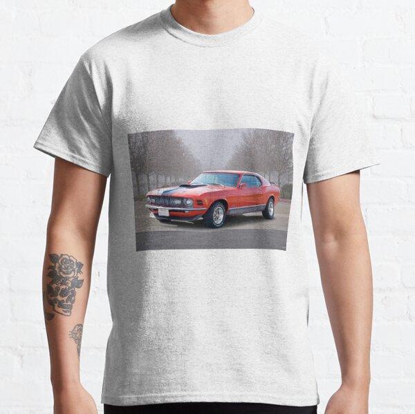 Mens Ford Mustang T Shirt Mach 1 Cobra Shelby American Classic Muscle Car Shirts