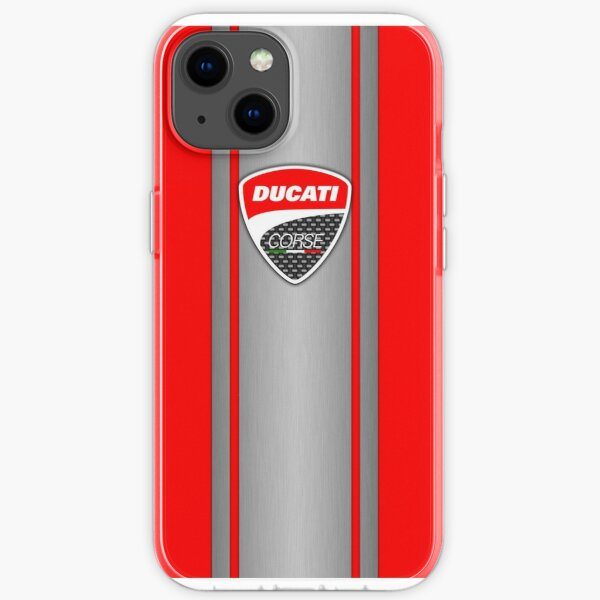 Piel Ducati Corse Steel Funda blanda para iPhone