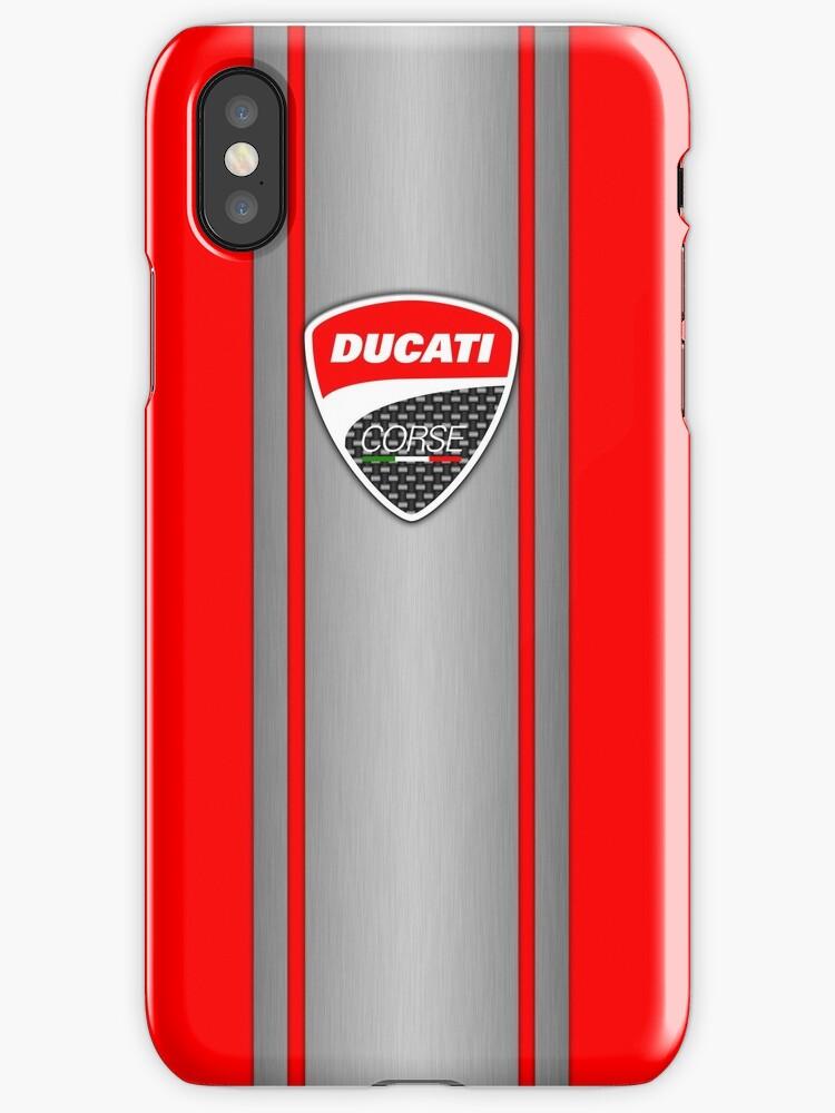 Ducati Corse Steel Skin by AmandaWelsh