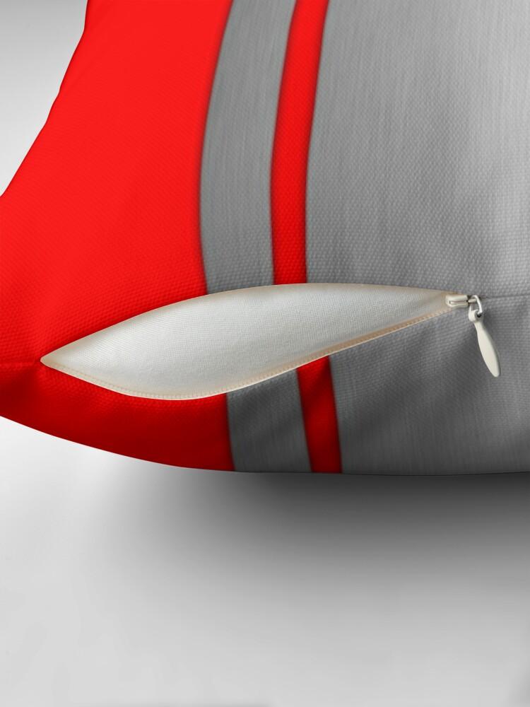 Alternative Ansicht von Ducati Corse Stahlhaut Dekokissen