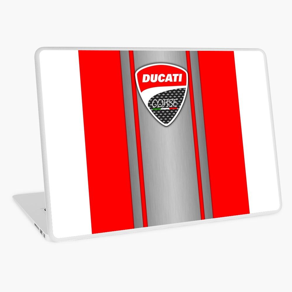 Ducati Corse Stahlhaut Laptop Folie