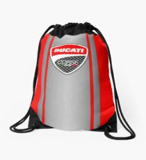 Ducati Corse Steel Skin Drawstring Bag