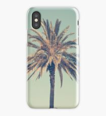 Retro palm tree iPhone Case/Skin