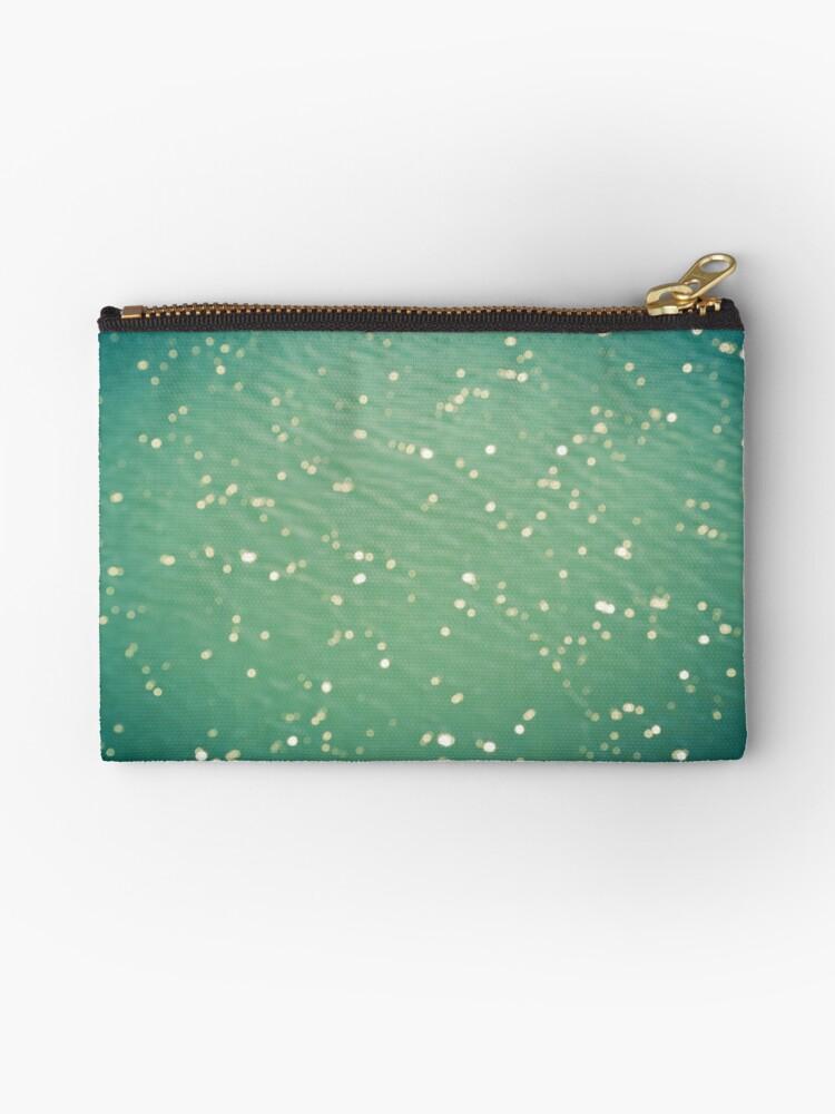 Green ocean blur by Marie Carr