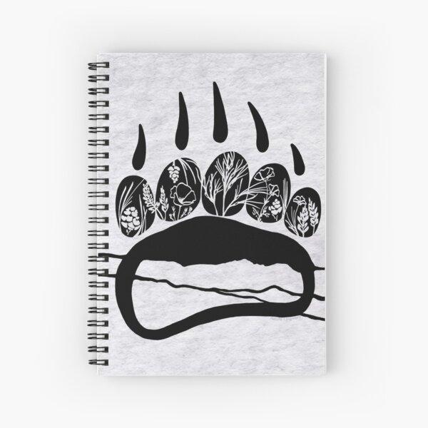 California Trail Bear Spiral Notebook