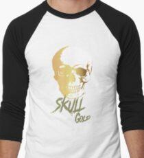 Skull Gold Men's Baseball ¾ T-Shirt