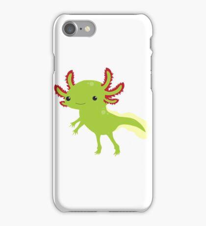 Cutesy Axolotl iPhone Case/Skin