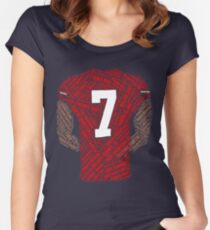 Colin Kaepernick: Carrying the Weight Women's Fitted Scoop T-Shirt