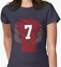 Colin Kaepernick: Carrying the Weight Women's Fitted T-Shirt