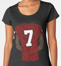 Colin Kaepernick: Carrying the Weight Women's Premium T-Shirt