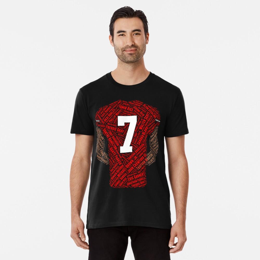 Colin Kaepernick: Carrying the Weight Premium T-Shirt