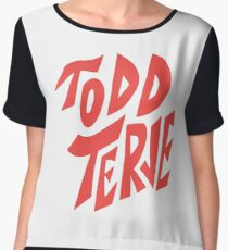 Todd Terje Women's Chiffon Top