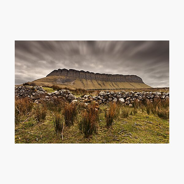 Benbulbin Under The Cloud Photographic Print