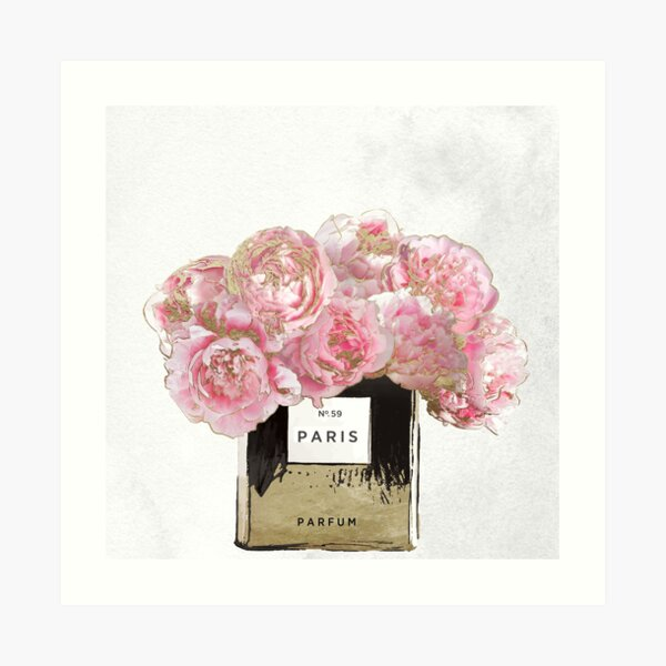 Pink Scented Art Print