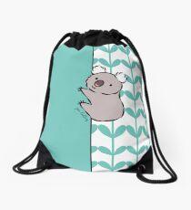 Clinging Koala  Drawstring Bag