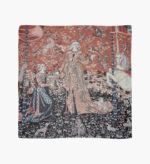 Lady & the Unicorn Tapestry Scarf