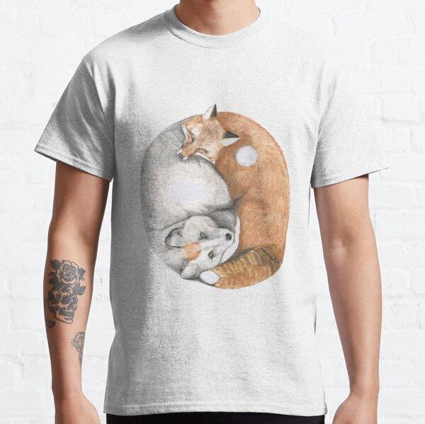 Fox Yin Yang Classic T-Shirt