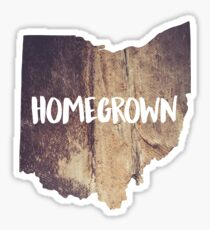 Homegrown Ohio Sticker