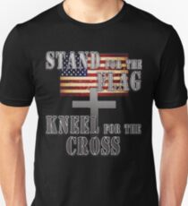 Stand for the Cross, Kneel for the Flag Original Unisex T-Shirt
