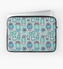 Pretty Cacti Laptop Sleeve