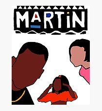 Martin (White) Photographic Print