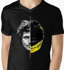 Guy Martin 2 Sides Helmet Design Men's V-Neck T-Shirt