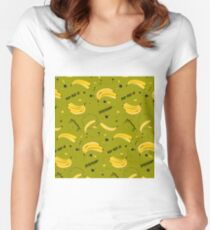 Bananas Women's Fitted Scoop T-Shirt