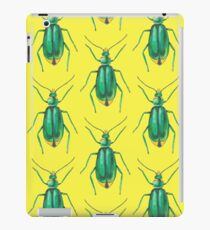 Green insect drawing iPad Case/Skin