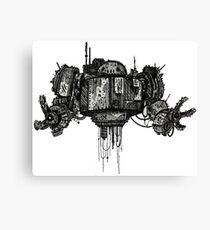 Retro Robot Print Canvas Print