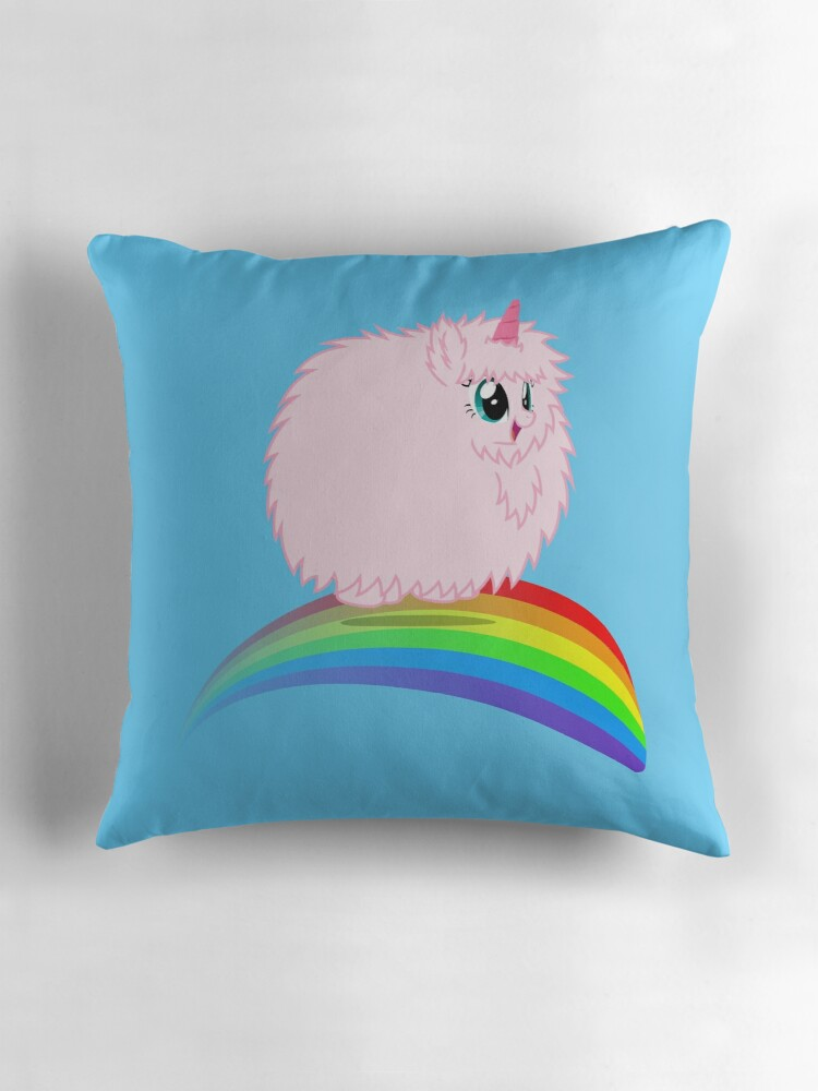 Quot Pfudor Quot Throw Pillows By Fluffle Puff Redbubble