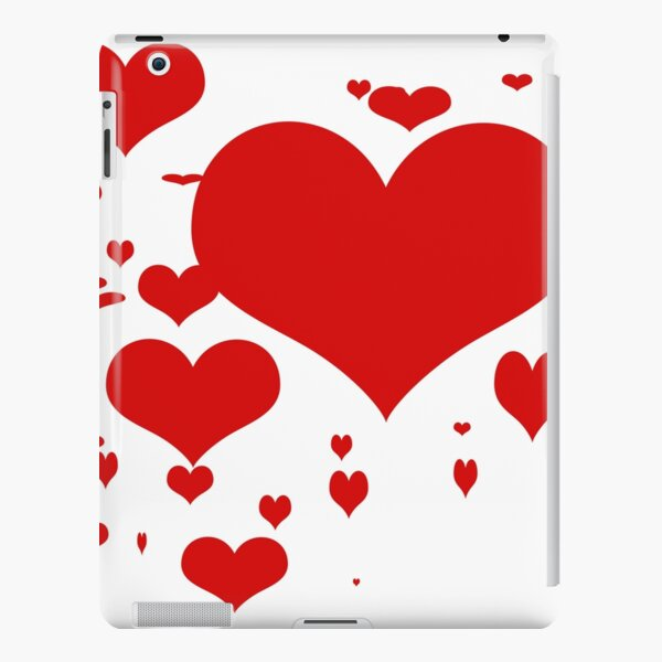 Red hearts for love pattern  iPad Snap Case