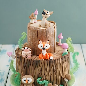 Enchanted forest cake by ECoelfen