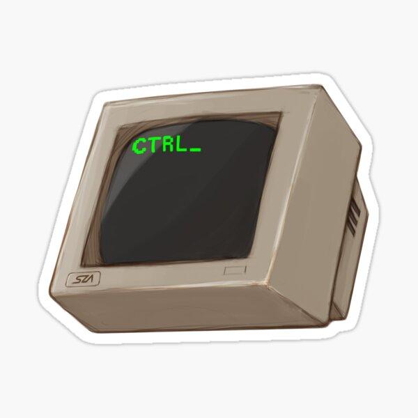 Ctrl Computer Sticker